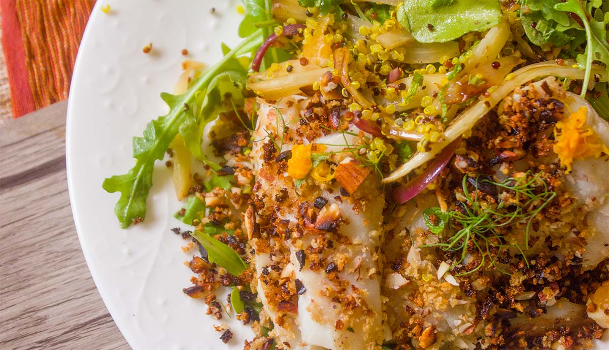 Almond Crusted Haddock | Prepd
