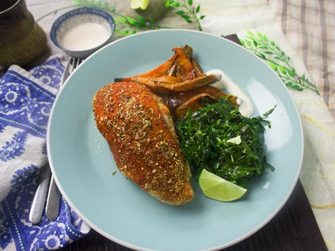 Cajun-Spiced Chicken