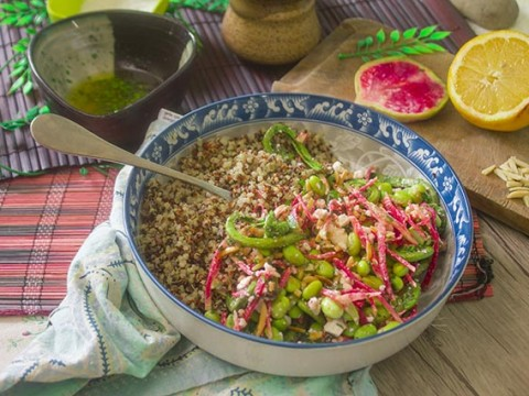 Spring Quinoa Bowl