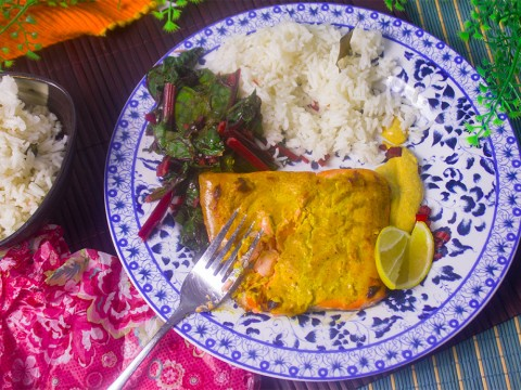 Indian Spiced Salmon