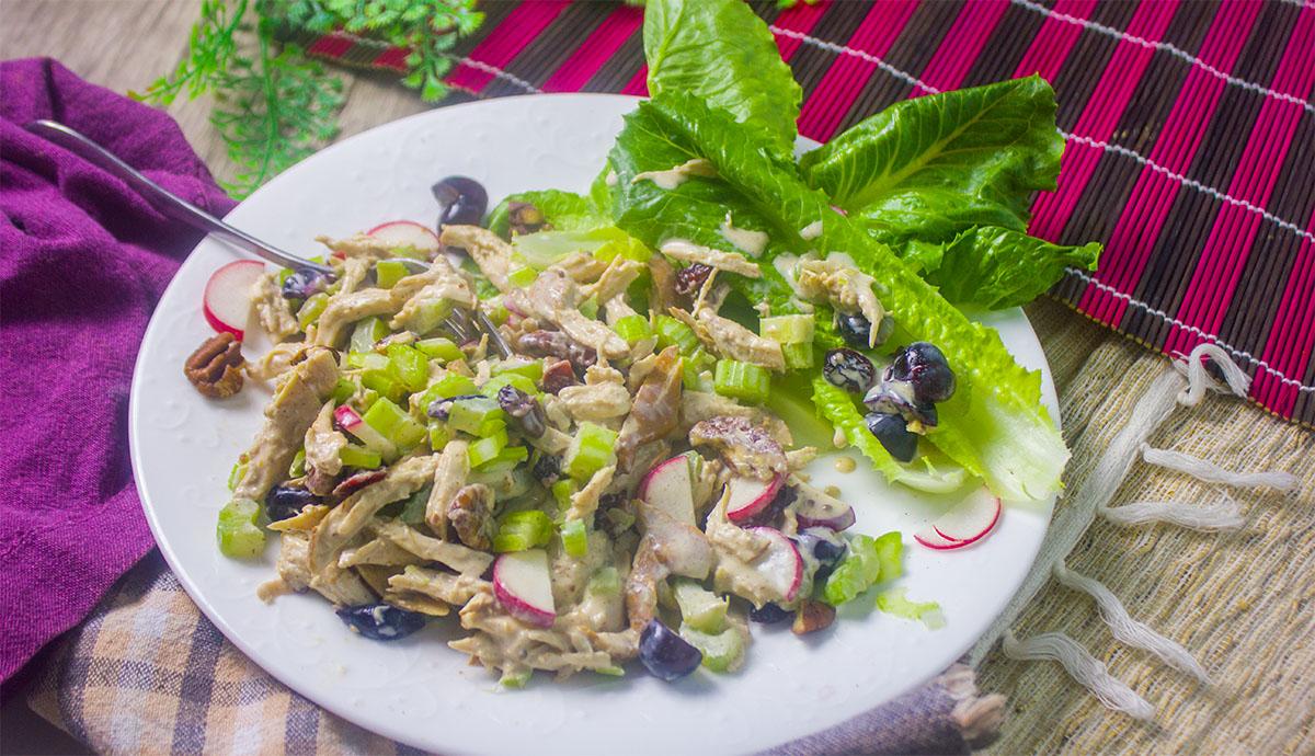 chicken salad - wide