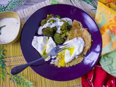 Egg & Swiss Potato Rosti
